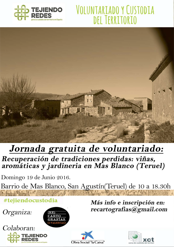 Voluntariado ambiental en Mas Blanco